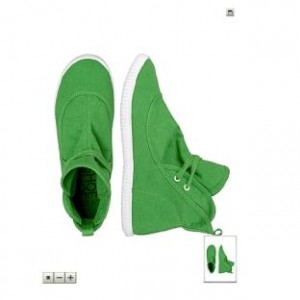 striipe-schuhe-grun